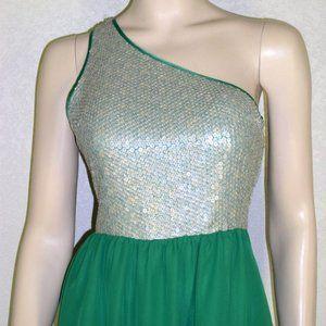 Kensie NWT Marbled Sequin One Shoulder Dresses